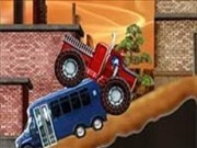 monster truck de pompieri