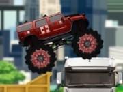Jocuri cu monster truck pentru echipa medicala