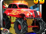 monster truck rapid cu explozii