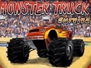 monstru camion de lupte in arena