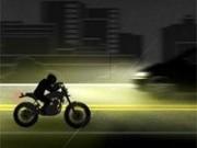 motocicleta condus pe ploaie