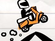 motocicleta pe linie