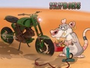 Jocuri cu motociclete de desert condus de soricei