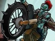 Jocuri cu motorete conduse de zombi