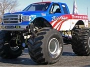 parcari camioane monstru 3d