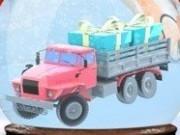 parcari camioane mos craciun de iarna