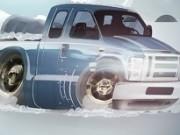 parcari de camioneta iarna