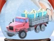 Jocuri cu parcari de craciun in camionul de cadouri