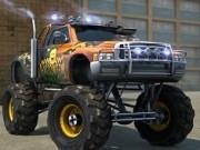 parcat camioane monstru 3d in oras