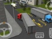 parcheaza camioane 3d cu semiremorca