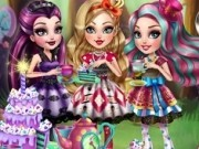 petrecerea de ceai in ever after high