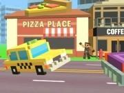 pixel taxi 3d