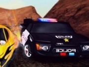 politisti in masini si piloti de curse