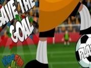 prinde mingea de fotbal