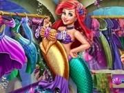 printesa ariel si hainele de sirena