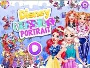 Jocuri cu puzzle cu portretul de printese