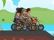 racer de dealuri pe motoreta