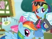 Jocuri cu rainbow dash fata ponei