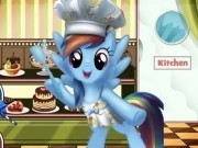 rainbow dash in cofetaria dulce
