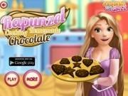 rapunzel gateste ciocolata de casa