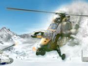 Jocuri cu razboiul elicopterelor pe gheata