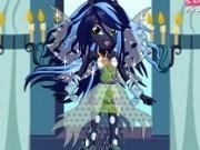 regina chrysalis de imbracat fete ponei