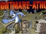 rigbi si mordecai lupta contra zombi