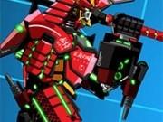 Jocuri cu robotul de lupta samurai