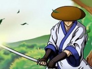 samurai luptator cu sabia