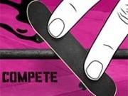 skateboard 3d cu mouse