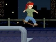 Jocuri cu skater de strada in oras