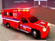 sofer de ambulanta 3d