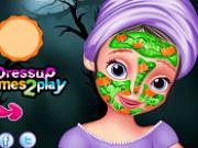 sofia intai makeover de halloween