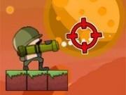 soldati tintesc cu rachete