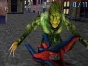 spiderman lupte 3d cu panza de paianjen