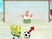spongebob fotbal la penalty