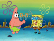 spongebob si patrick in doi
