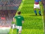 sprint de fotbalist cu dribling