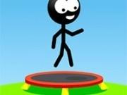 Jocuri cu stickman pe trambulina