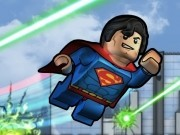 superman in lupta lego