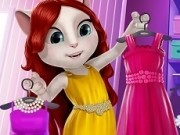 talking angela in ziua de moda