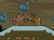taramul zombiilor distrus de camioane masini