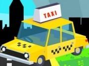 Jocuri cu taxi nebunesc prin oras