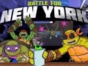 Jocuri cu testoasele ninja in lupta pentru new york