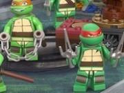 testoasele ninja lego la antrenament