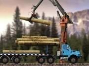 Jocuri cu tirul cu lemne