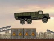 Jocuri cu tirul militar de transportat arme