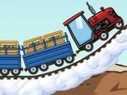 tractorul locomotive cu remorca