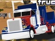 transfomers curse cu camionul optimus prime