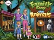 Jocuri cu ziua familiei cu animale de ingrijit